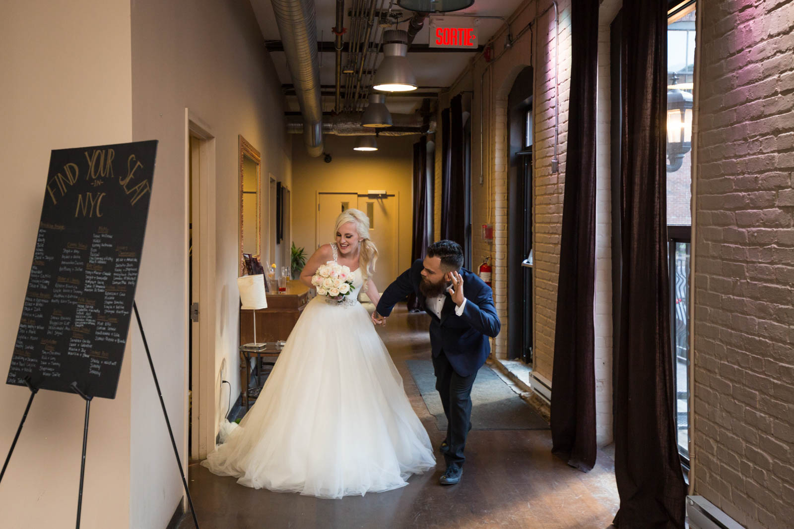 Allison and Anthony Espace Canal Montreal wedding – 025