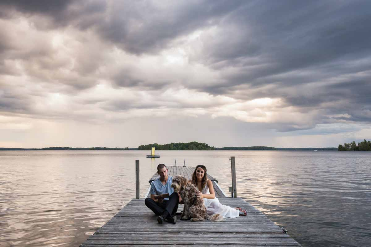 Rosebud Resort wedding in Portland Ontario