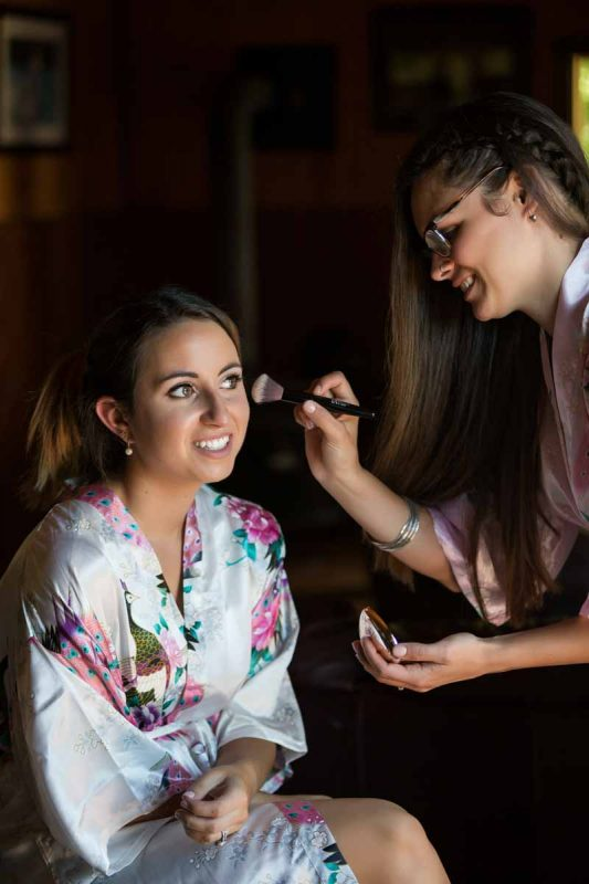 Pixelicious Kc and Quinn wedding bride preparation makeup