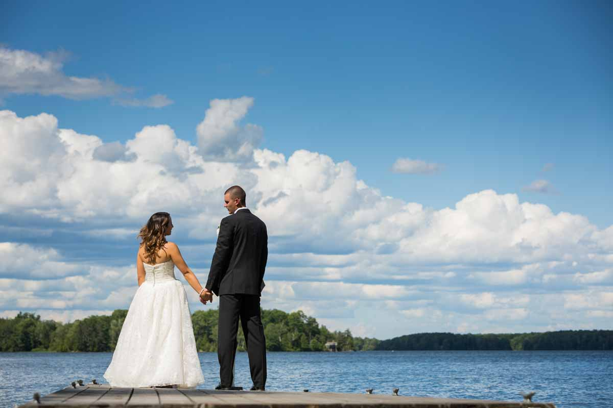 Pixelicious Kc and Quinn wedding Rosebud Resort bridal portraits at docks