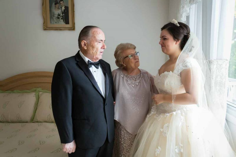Pixelicious Megan and Raphael wedding bride preparation with grandparents