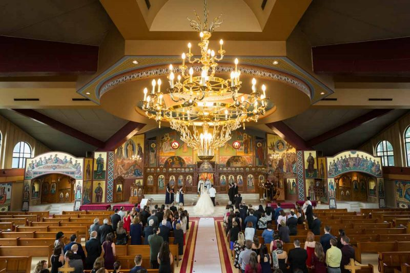 Pixelicious Evangelismos Tis Theotokou Greek Orthodox Church wedding ceremony