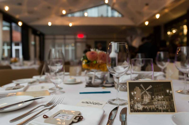 Hotel Nelligan wedding reception