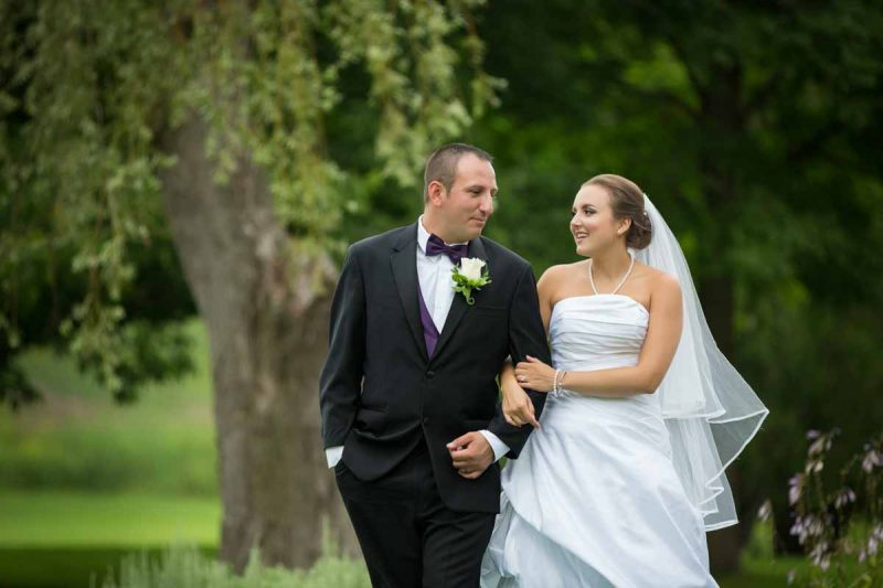 Whitlock golf wedding portrait outdoor