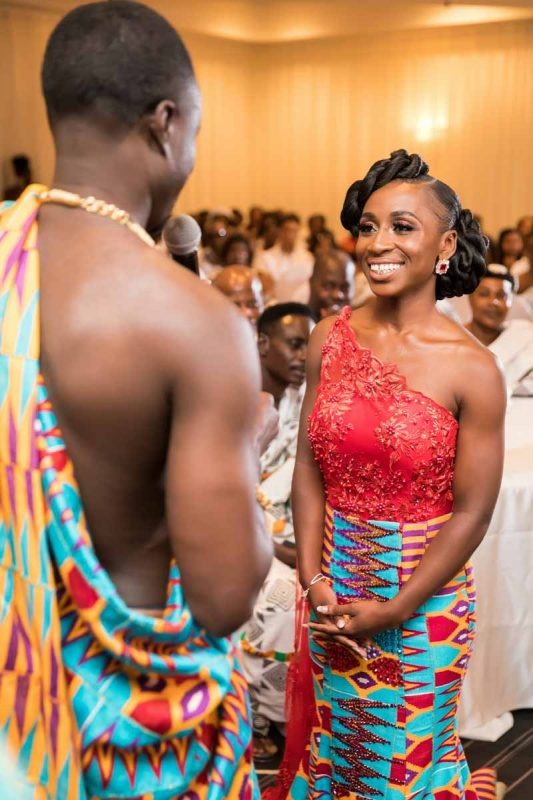 Ghanaian wedding ceremony at La Plaza Montreal