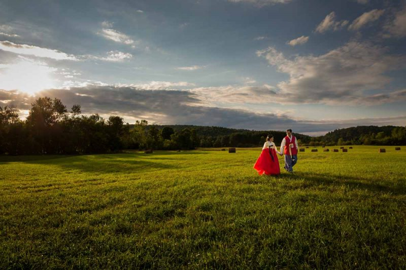 Korean hanbok wedding Cantley Quebec